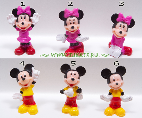 Arluy / Mickey and Minnie
