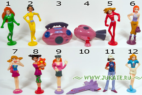 Bip's Candy Fun / Totally Spies