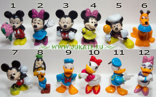 Bip's Candy Fun / Mickey Mouse