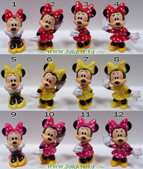 Bip's Candy Fun / Minnie Mouse