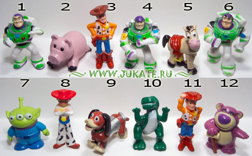 Bip's Candy Fun / Toy Story 3