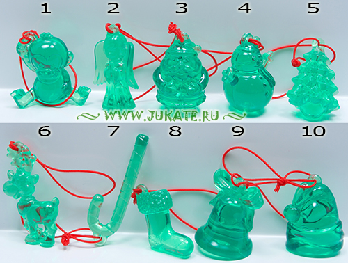 Christmas decorations(green) (2015)