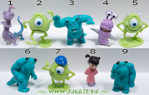 Grezon / Monsters, Inc.