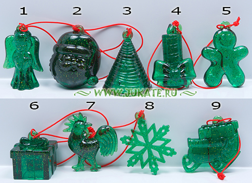 Christmas decorations(green) (2016)