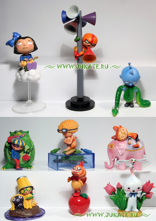 Japan toys  -  Jimmy Liao / Happy Lost Land
