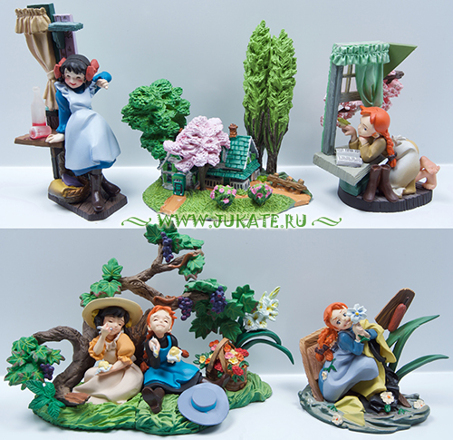 Japan toys  -  Kaiyodo / Anne Mini Vignette Collection