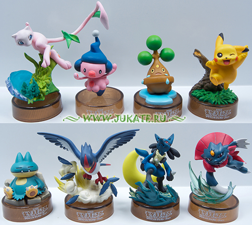 Japan toys  -  Kaiyodo / Pokemon Movie figure collection