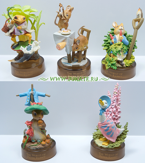 Japan toys  -  Kaiyodo / The World of Peter Rabbit