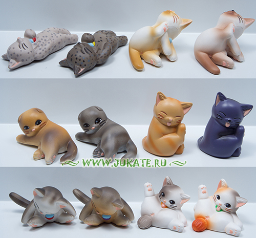 Japan toys  -  Yujin / Cutie mini cat