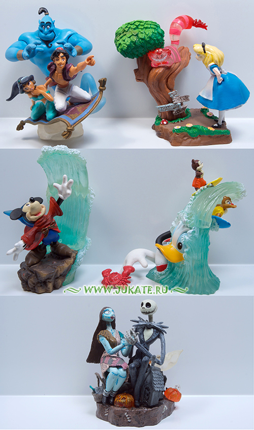 Japan toys  -  Yujin / Disney Cinemagic Paradise 2