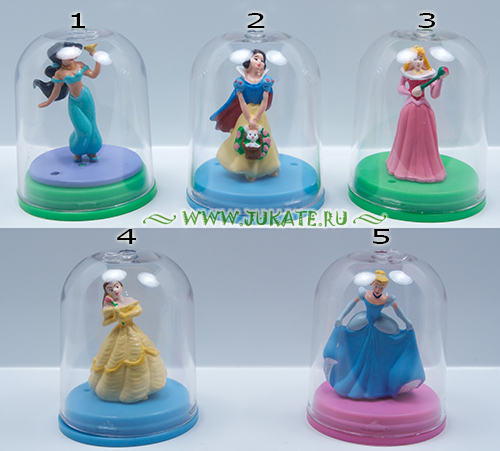 Japan toys  -  Yujin / Disney Princess фигурка Collection 2