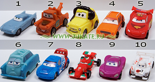 Zaini / Disney Cars 2